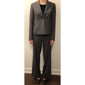 Theory Buckingham Check 2pc. Pants Suit - Size 6